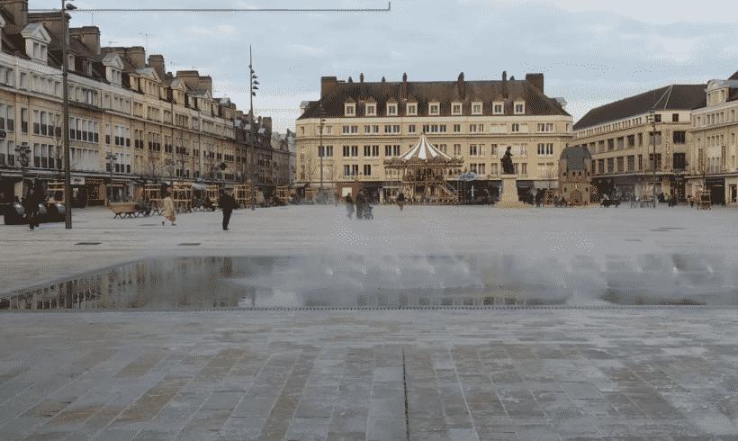 Aménagement de la place Jeanne Hachette à Beauvais (60)