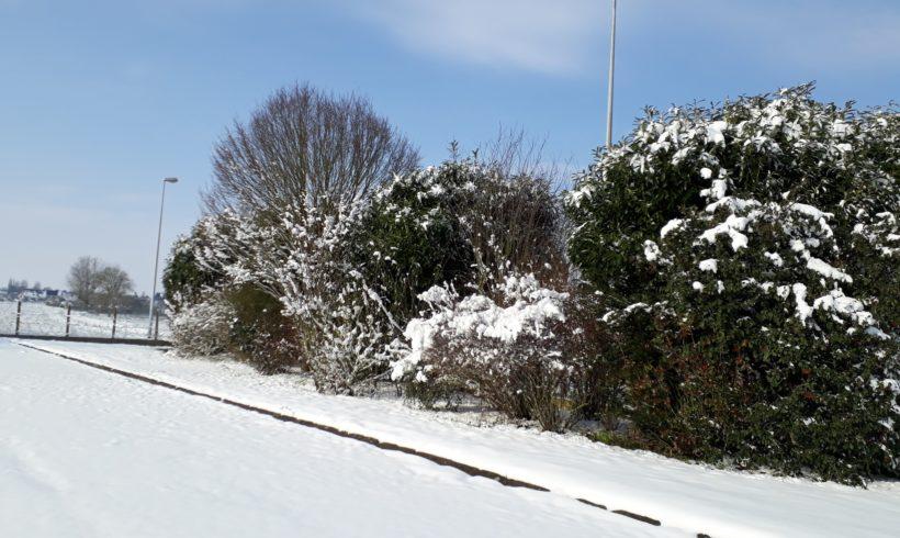 GIRAVERT sous la neige